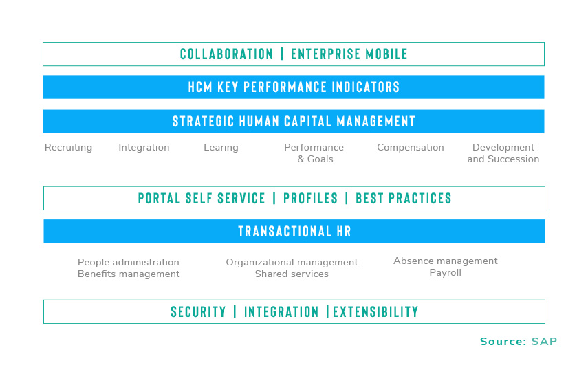 Infographic - Strategic Human Capital Management