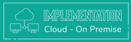 Implementation Cloud - On Premise